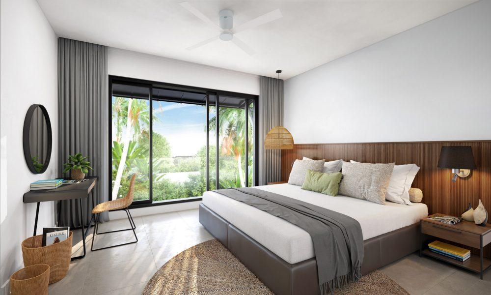 Ennéa Penthouse – Master-Bedroom